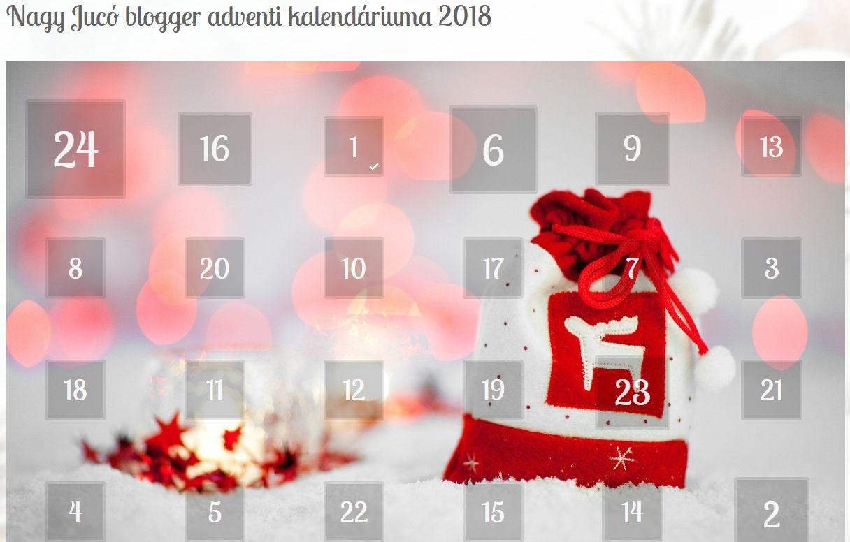 adventi naptár története