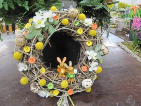 Természetes alapú húsvéti dekorációk