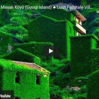 Elhagyott halászfalu Gouqi szigetén