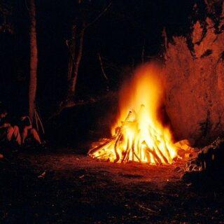 Szent Iván éjszakája tűzrakás