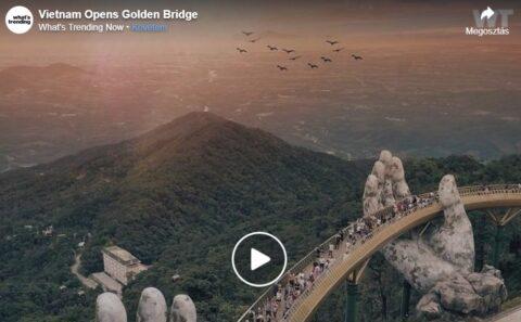 Aranyhíd - Vietnám kedvenc hídja